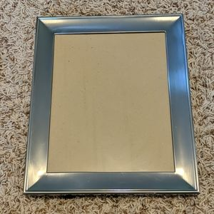 Silver Matted 8 x 10 picture frame